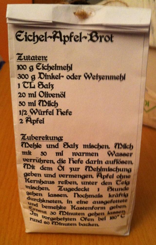 Eichelmehl Rezept