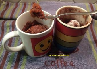 Erdnussbutter-Schoko-Mug Cake-Duett