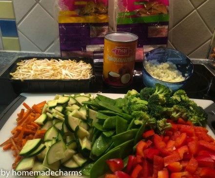 Gemüsecurry_Zutaten