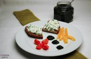 Bärlauch-Paste-komplett