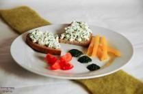 Bärlauch-Paste-Teller