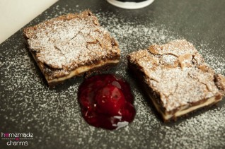 Frischkäse-Brownies teil rechts