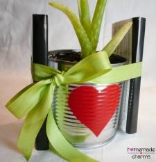 Aludosen-Blumentopf_Geschenk_nah