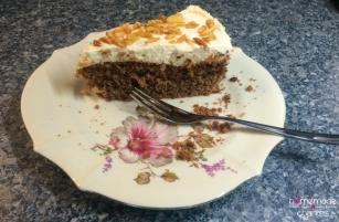 Irish Cream Sahne Torte Stück ganz