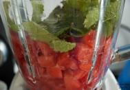 Melonen-Drink-Mixer