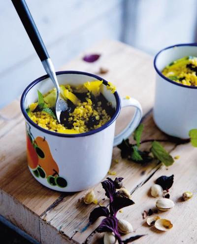 Curry-Bulgur-Salat