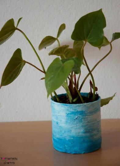 Gipstopf_blau_bepflanzt